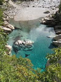 Albanian blue waters